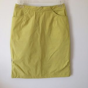 Sun Valley Summer Skirt Short Sporty Lime Green